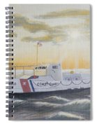 C G  40300 On Patrol Spiral Notebook