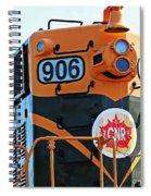 C N R Train 906 Spiral Notebook
