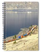 C P R And C N R Freight Trains Spiral Notebook