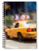 Cab Ride Spiral Notebook