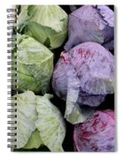 Cabbage Friends Spiral Notebook