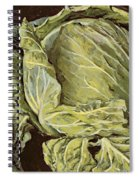 Cabbage Still Life Spiral Notebook