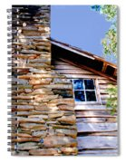 Cabin At Mabry Mill Spiral Notebook
