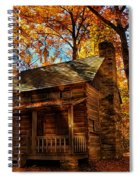 Cabin At The Cove Spiral Notebook