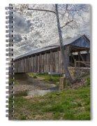 Cabin Creek Covered Bridge Spiral Notebook