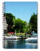 Cabin Cruisers Spiral Notebook