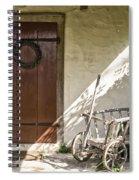 Cabin Door Spiral Notebook