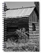 Cabin In The Wilderness Spiral Notebook