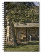 Cabin In The Wood Spiral Notebook