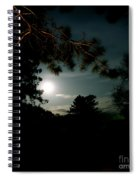 Cabin Moon Spiral Notebook