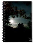 Cabin Moon Spiral Notebook