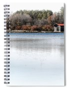 Cabin On A Lake Spiral Notebook