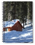 Cabin On Grand Mesa Co Spiral Notebook