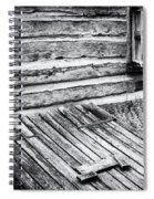 Cabin Shutters Spiral Notebook