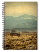 Cabin With Mountain Views Spiral Notebook