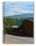 Cabins In The Smokies Spiral Notebook