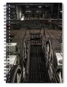 Cable Car Barn In San Francisco Spiral Notebook