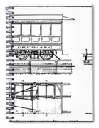 Cable Car Patent, 1873 Spiral Notebook