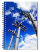 Cable Car Pillars Spiral Notebook