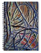 Cable Jungle Spiral Notebook