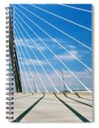 Cable-stayed Bridge, Arthur Ravenel Jr Spiral Notebook
