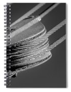Cables And Pulleys Spiral Notebook
