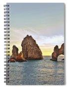 Cabo San Lucas Arch Sunset Spiral Notebook