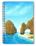Cabo San Lucas Mexico Spiral Notebook