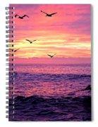 Cabo San Lucas Sunrise Spiral Notebook
