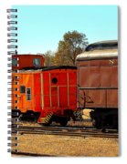 Caboose And Car Spiral Notebook