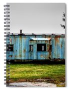 Caboose On A Farm Spiral Notebook