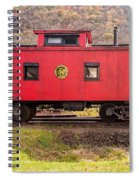 Caboose Spiral Notebook