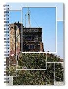 Cabot Tower Montage Spiral Notebook