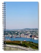 Cabot Tower Overlooking The Port City Of St. John's Spiral Notebook