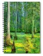 Cache River Swamp Spiral Notebook