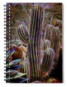 Cacti Lights Spiral Notebook