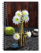 Cactus Blooms Spiral Notebook
