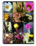 Cactus Collage Spiral Notebook