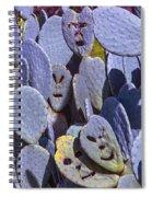 Cactus Faces Spiral Notebook