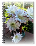 Cactus Flower Perfection Spiral Notebook