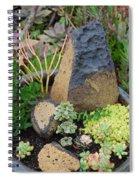 Succulent Garden Spiral Notebook