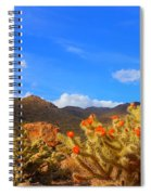 Cactus In Spring Spiral Notebook