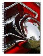 Cad Chrome Spiral Notebook