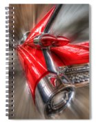 Caddy Corner  Spiral Notebook
