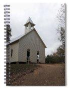 Cades Cove Church Spiral Notebook