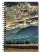 Cades Cove Hdr Spring 2014 Spiral Notebook