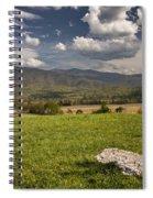 Cades Cove Landscape Spiral Notebook