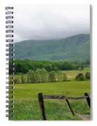 Cades Cove Mountains 1 Spiral Notebook