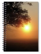Cades Cove Sunrise Spiral Notebook
