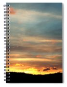 Cades Cove Sunset Spiral Notebook